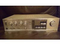 Toshiba Hifi Amplifier Stereo Audio Separate SB-M33 1980's Retro in Silver