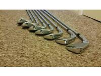 TaylorMade RBZ Tour irons with KBS Shafts 4 to AW
