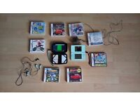 Nintendo DS Lite with Super Mario Bros and 7 other games