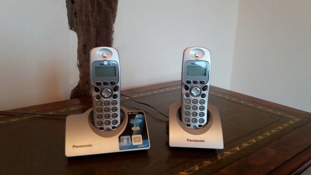 "Panasonic ""Dect"" Cordless Phone TwinPack ."