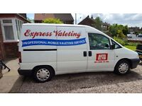 Valet Business Van for sale with all equipment