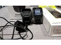 Tom Tom Multisport GPS Watch For Running, Swimming and Cycling