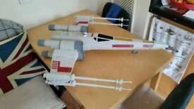 80cm big large star wars x wing fighter