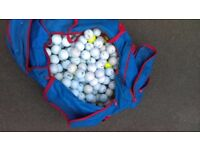 Bag of golf balls £10