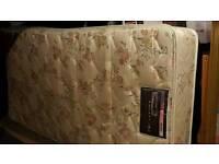 2 x single deep mattresses