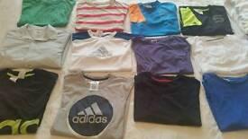 Bundle of tshirts, x 12 excellent condition. Adidas 13-14