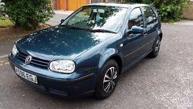 2001 Volkswagen Golf 1.4 S 5dr HPI Clear @07445775115@ 07725982426@