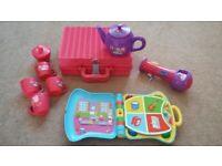 LARGE PEPPA PIG bundle. Toys, Instruments, games, books, puzzles & DVD's.Excellent condition.