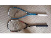 2 Squash rackets +3 balls