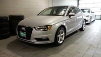 2015 A3 LOW KM ONE OWNER ACCIDENT FREE