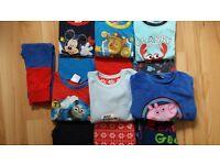 Bundle of Boy's Pyjamas 2 - 3 years