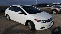 2012 Honda Civic EX! Fully Reconditioned! Guaranteed Approval!