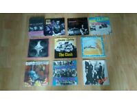 10 x the clash 7 inch singles japan issue