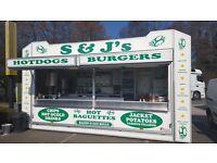 Catering job in burger bar at Segensworth B&Q