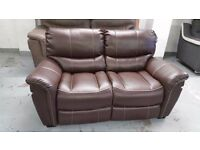 SATURN ENDURANCE From ScS BROWN 2 Seater Standard Sofa **CAN DELIVER**