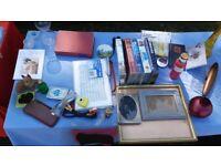 Job Lot for Boot Fair (Glassware, Photo Frames, Bric-a-brac)