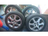 For sale 4 stud Honda civic sport alloys