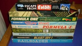 Selection of VINTAGE family board games - prices as shown