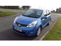 NISSAN NOTE 1.5DCi TENKA,2010,51,000mls,Alloys,Sat,Nav,Half Leather,Full Service History,Very Clean