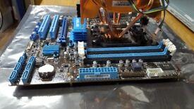 ASUS Motherboard and Processor Bundle