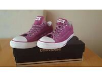 All Star Converse with box
