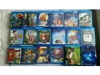 Disney Blu Ray movies