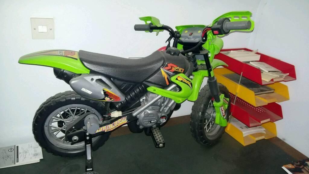 Kids battery operated motor bike