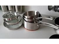 5 piece Sainsbury's pan set
