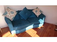 Turquoise Large Sofa/Couch