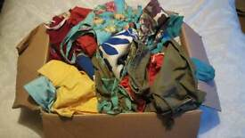 Box of womens clothes all branded (mostly surf brands)