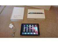 Apple Ipad Air 1st Generation Wi-Fi 32GB Black 9.7 Inch MD786B/A Boxed