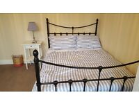 Double Bed Frame & Memory Foam Mattress for Sale: £300.00 for both, Barely used