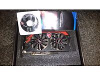 MSI NVIDIA GeForce GTX 760 2GB Twin Frozr Graphics Card
