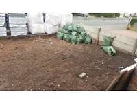 Free soil, good soil, was under turf,