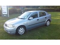VAUXHALL ASTRA CLUB 1.6 52 PLATE ONLY 40,000 MILES