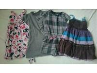 Girls clothes dresses bundle, size 6-8 years
