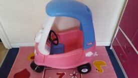 Princess Tikes Cosy Coup Car