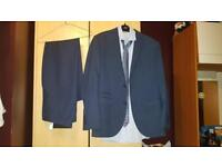 Suit from NEXT tailored fit and shirt and tie