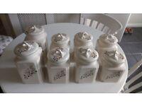 Kitchen Ware Coloroll Ceramic Storage Jars