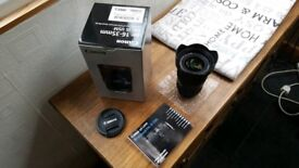 Genuine Canon 16-35 F4 USM Ultra Wide Angle DSLR Lens with Image Stabilisation IS
