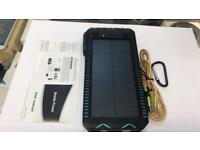 Power Bank with solar system high quality