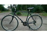 Claud Butler gents bike large frame