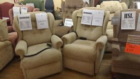 Sherborne Lynton Riser Recliner Chair, Pair Available, Free Delivery