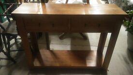 pine sideboard kitchen hallway table etc