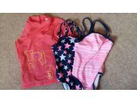 Girls 4 years swim bundle
