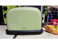 Next green kettle and toaster set