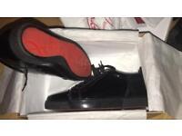 Christian louboutin sneakers patent