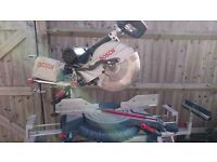 Bosch GCM12 SD Professional Compound Mitre Saw, with GTA 2600 Professional Stand