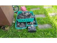 Scrap cats batterys bought