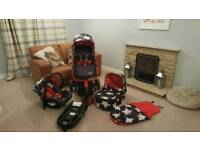 Cossato Giggle 2 complete travel system